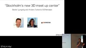 """Stockholm's new 3D meet up center"" by Anders Tyrland of 3DVerkstan"