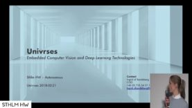 """Computer Vision and Deep Learning Technologies"" by Ingrid af Sandeberg of Univrses"