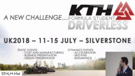 """KTH Formula Student Driverless"" by Pier Luigi Dovesi of KTH Formula Student"